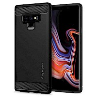 Spigen Samsung Galaxy Note 9 Case Rugged Armor Black 599CS24572