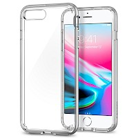 Spigen iPhone 7/8 Plus Case Neo Hybrid Crystal 2 Satin Silver 055CS22370