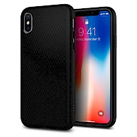 Spigen iPhone X/Xs Case Liquid Air Matte Black 063CS25114