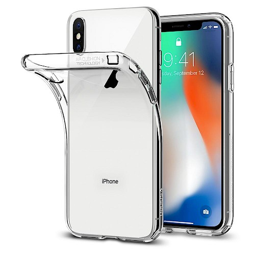 Spigen iPhone X/Xs Case Liquid Crystal Clear 063CS25110