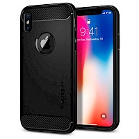 Spigen iPhone X/Xs Case Rugged Armor Black 063CS25113