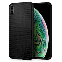 Spigen iPhone Xs Max Case Liquid Air Black 065CS25126