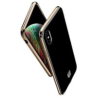 Spigen iPhone Xs Max Case La Manon Black Gold 065CS25312