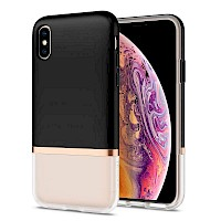 Spigen iPhone Xs Max Case La Manon Jupe Milk Black 065CS25370