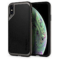 Spigen iPhone Xs Max Case Neo Hybrid Dark Gunmetal 065CS24838