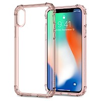 Spigen iPhone X/Xs Case Crystal Shell Rose Crystal 057CS22143