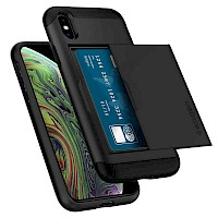 Spigen iPhone X/Xs Case Slim Armor CS Black 063CS24922