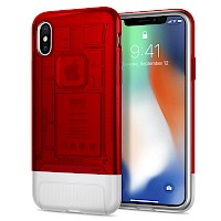 Spigen iPhone X Case 10th Anniversary Limited Edition Classic C1 Ruby 057CS23195