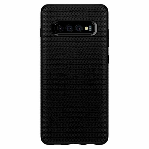 Spigen Galaxy S10 Plus Case Liquid Air Matte Black 606CS25764