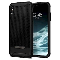 Spigen iPhone Xs Max Case Hybrid NX Black 065CS24944