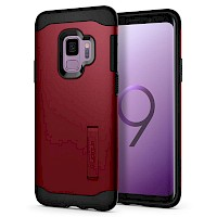 Spigen Galaxy S9 Case Slim Armor Merlot Red 592CS22882
