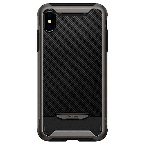 Spigen iPhone X/Xs Case Hybrid NX Gunmetal 063CS24943