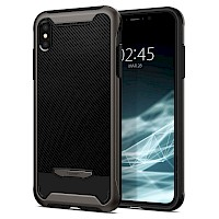 Spigen iPhone Xs Max Case Hybrid NX Gunmetal 065CS24863