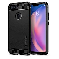 Spigen Xiaomi Mi 8 Lite Case Rugged Armor Black S27CS25598