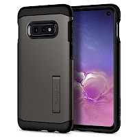Spigen Galaxy S10e Case Tough Armor Gunmetal 609CS25841