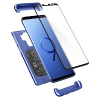 Spigen Galaxy S9 Plus Thin Fit Case 360 Full Coverage Blue 593CS22960
