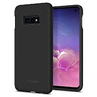 Spigen Galaxy S10e Case Silicone Fit Black 609CS25854