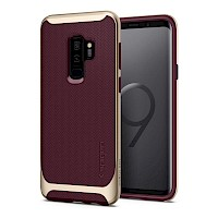 Spigen Galaxy S9 Plus Case Neo Hybrid Burgundy 593CS22944