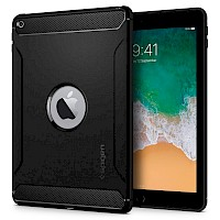 Spigen iPad 9.7 2017/2018 Case Rugged Armor Black 053CS24120