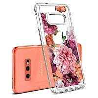 Spigen Galaxy S10e Case CIEL Rose Floral 609CS25859