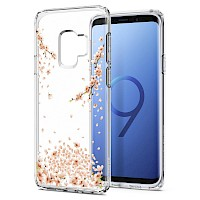 Spigen Galaxy S9 Case Liquid Crystal Blossom Clear 592CS22827