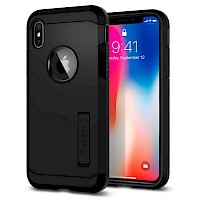 Spigen iPhone X/Xs Case Tough Armor Black 063CS25118