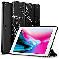 Premium ESR ILLUSDESIGN® iPad 9.7 2017/2018 Case Marble Black