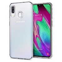 Spigen Samsung Galaxy A40 Case Liquid Crystal Clear 618CS26245
