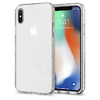 Spigen iPhone X/Xs Case Liquid Crystal Glitter Crystal Quartz 063CS25111