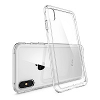 Spigen iPhone X/Xs Case Crystal Hybrid  Clear 063CS25140