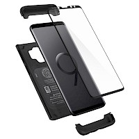 Spigen Galaxy S9 Thin Fit Case 360 Full Coverage Black 592CS22872