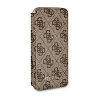 Original GUESS Preklopna futrola za iPhone X/Xs Smeđa GUFLBKPX4GB
