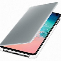 Clear View Standing Cover Samsung Galaxy S10e bijeli EF-ZG970CWEGWW