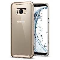 Spigen Galaxy S8 Case Neo Hybrid Crystal Gold Maple