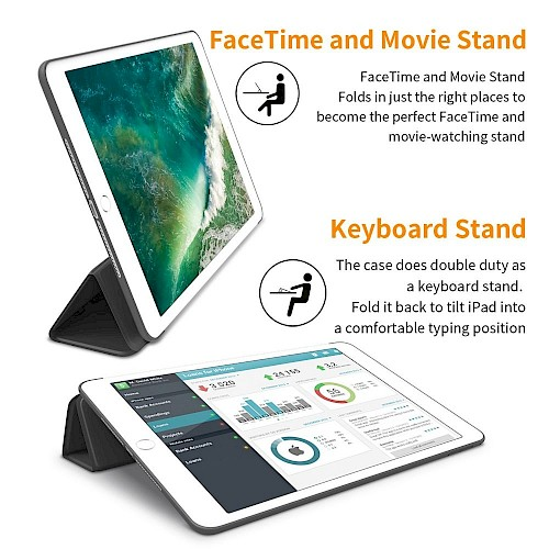 Tech-Protect® SmartCase Futrola za iPad Mini 1/2/3 Crna