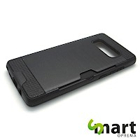 Silikonska maska za Samsung Galaxy Note 8 Card Holder Crna