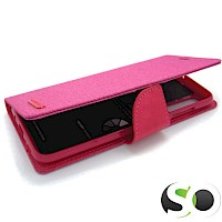 Preklopna futrola za Samsung A70 Canvas Hot Pink