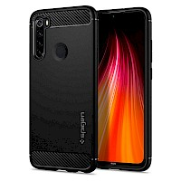 Spigen Xiaomi Redmi Note 8 Rugged Armor Matte Black ACS00271