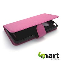 Preklopna futrola za MOTO C Plus Hot Pink