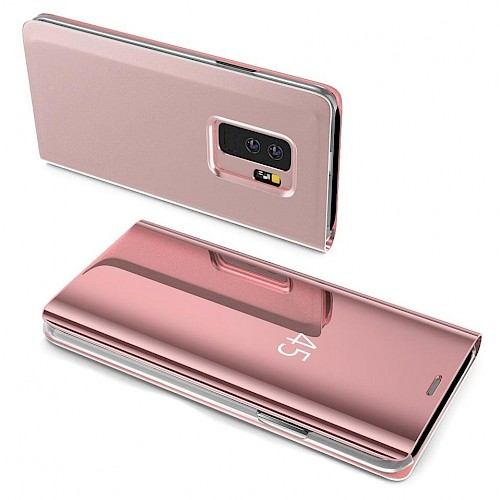 Clear View Standing Cover za Huawei P30 Lite Pink