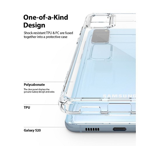 Ringke® Samsung Galaxy S20 Case Fusion Clear