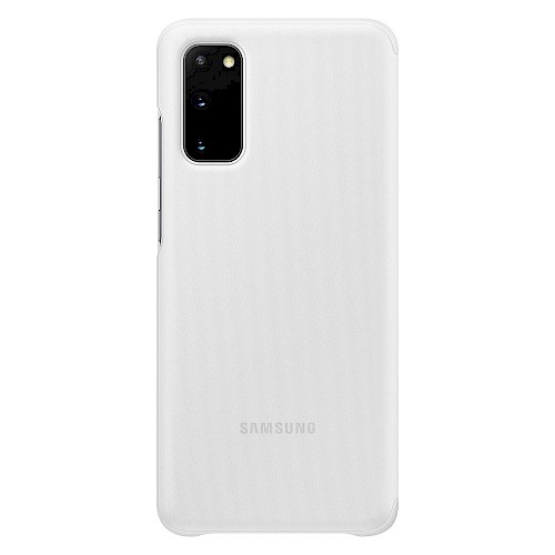 Clear View Cover Samsung Galaxy S20 Plus bijeli EF-ZG985CWEGEU