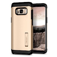 Spigen Galaxy S8 Case Tough Armor Maple Gold