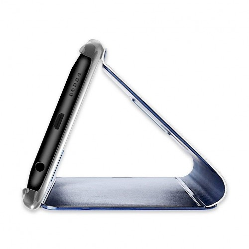 Clear View Standing Cover za Samsung Galaxy A71 Zlatni