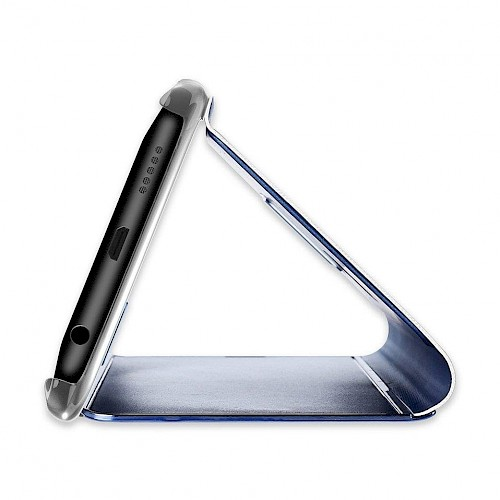 Clear View Standing Cover za Huawei P Smart Pro Plavi
