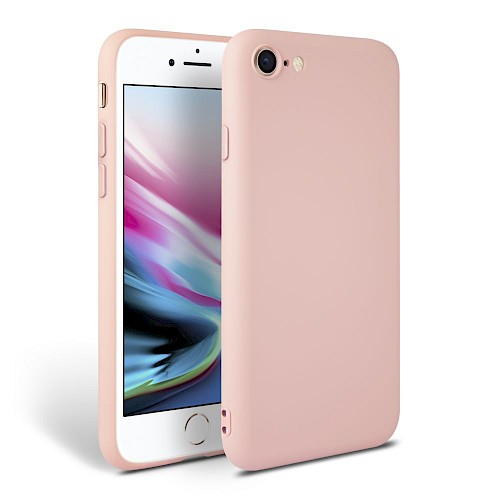 Tech-Protect® Smooth Silikonska maska za iPhone 7/8 Pink