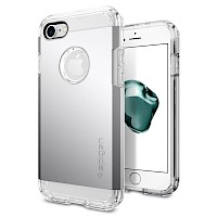 Spigen iPhone 7/8 Case Tough Armor Satin Silver 042CS20672