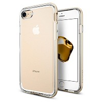 Spigen iPhone 7/8 Case Neo Hybrid Crystal Champagne Gold 042CS20521