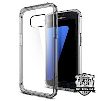Spigen Galaxy S7 Case Crystal Shell Dark Crystal