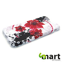 Silikonska maska za iPhone 6(s) PLUS  Big Red Flower